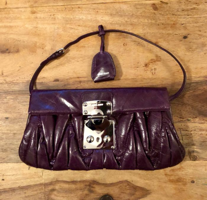 Matelassé Leather Handbag  - *No Minimum Price*