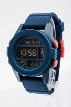 Nixon - Unit Navy One Silicone watch - A197307-00 - Men - 2011-present