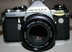 Great Pentax ME Asashi with the original case