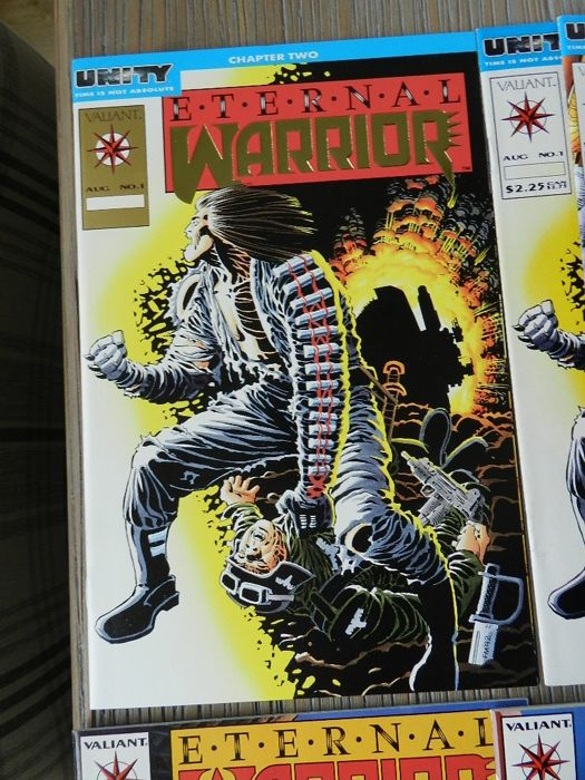 Eternal Warrior Vol.1 # 1-7 & 9-50 plus various Eternal Warrior limited series & specials plus Eternal Warrior Vol.2 # 1-8 complete - 64x (1992 - 1997)