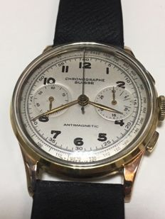 Chrongraphe Suisse - Landeron 51 Bicompax - Men - 1950-1959