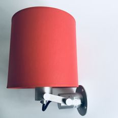 Modular - Nomad wall light with red shade
