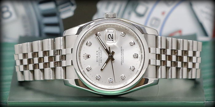 Rolex -  Oyster Perpetual Datejust - 116200  - Men - 2000-2010
