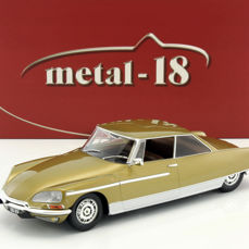 Metal-18 - 1:18 - Citroën DS 21 Chapron Le Léman 1968 - Limited Edition of 1.500 pcs.