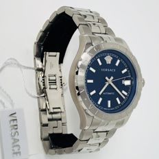 Versace - Hellenyium Automatic 42mm Blue Stainless Steel - VZI030017 - Unisex - NEW
