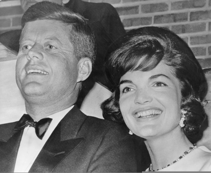 Unknown/WirePhoto/Globe - John and Jackie Kennedy , 1961/65