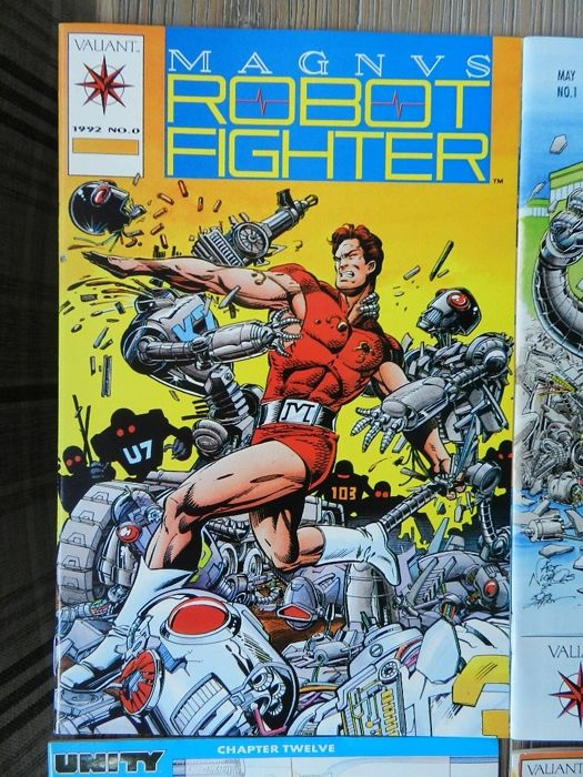 Magnus Robot Fighter vol.1 # 0-61 complete & vol.2 # 1-10 plus various Magnus limited series - 84x (1991-1998)