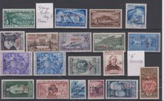 Trieste A/ B - selection of complete series and individual stamps