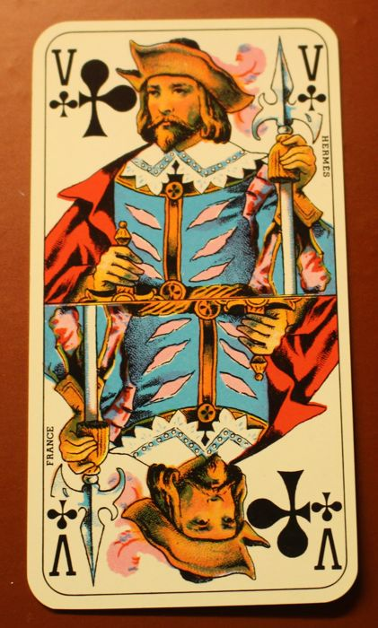 French TAROT original HERMÉS Hermes cards, in new condition - Catawiki