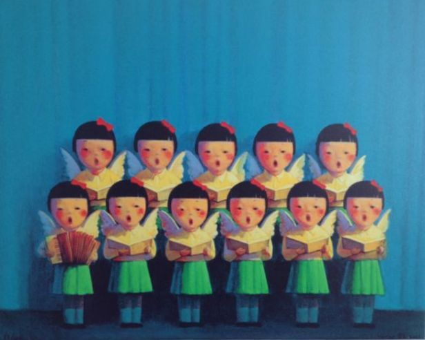 Liu Ye (China,1964) - Angel Choir