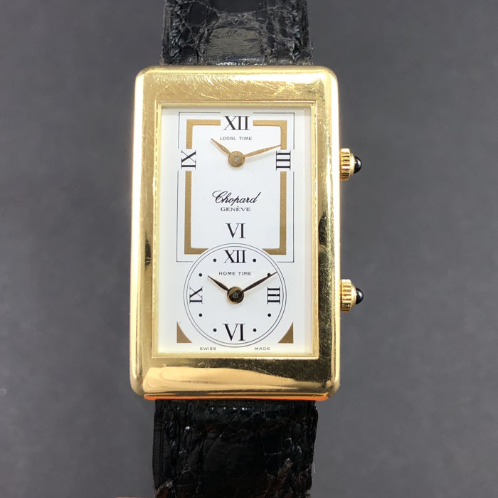 Chopard - Very Rare L.U.C GMT Dual Time Yellow Gold 18k - Ref. 2240 - Herre - 1990-1999