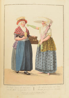 E. Maaskamp - Representations of dresses - morals and customs in the Kingdom of Holland - 1808