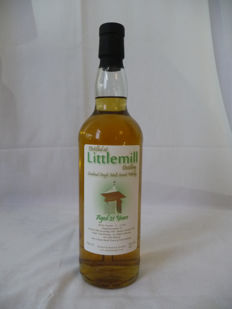 Littlemill 1990 - 21 years old - bottled 2012 - The Whisky Broker - limited edition only 306 bottles