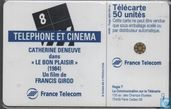 Telefoonkaarten - France Telecom - Telephone et Cinema 8