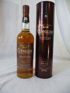 Clynelish 1992 - Distillers Edition - double matured in oloroso sherry cask - OB