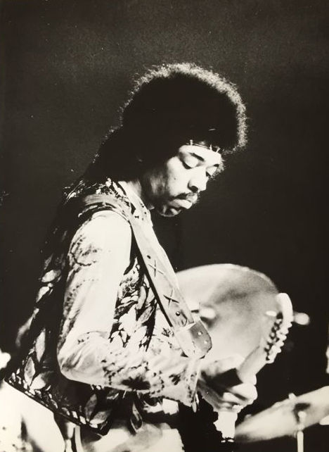 Unknown/ Friedhelm von Estorff - Jimi Hendrix, 1960's