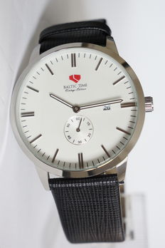 Baltic Time Vintage edition large dress watch - with extra steel bracelet  - Uomo - 2011-presente