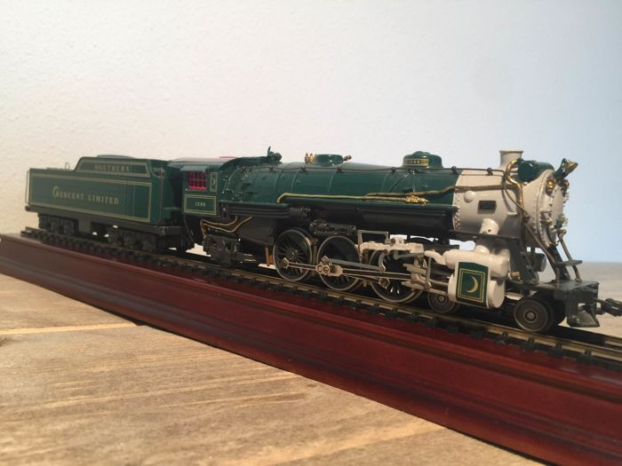 Franklin Mint Precision Models H0 - Stoomlocomotief met tender - Crescent Limited