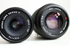 2 lenses for NIKON F mount