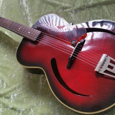 MILLER vintage Cateye jazz guitar (made by Egmond Best)
