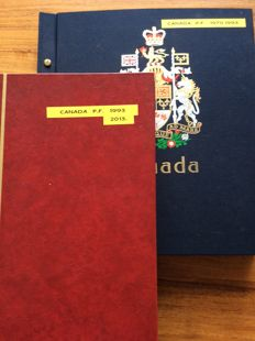 Canada 1970/2012 - Collection in Davo album and thick stock book.