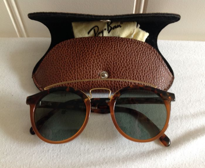 a4588442aa Ray-Ban - Gatsby style4 - B&L Zonnebril - Vintage - Catawiki