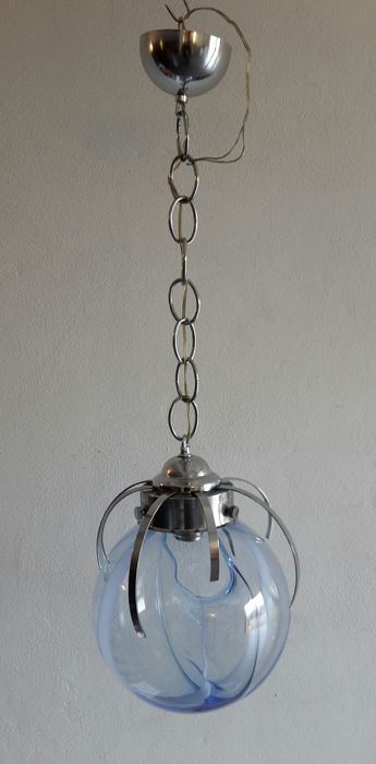 "Murano (not attributed) - pendant light in ""Membrana"" style by Toni Zuccheri, 1970s"