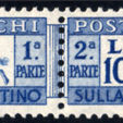Briefmarken Auktion (Italien)