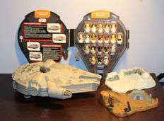 Collection Rollinz Millenium Falcon with all the characters of Star Wars