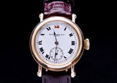 Patek Philippe - 14k solid gold mariage watch officer's chronometer - Uomo - 1944