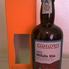 Silvano Samaroli Grenada Rum, Single Cask n. 1278 - Distilled in 1993 & Bottled in 2015 (50 cl bottle, n. 66 of 120)
