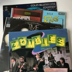 The Zombies / Colin Blunstone - lot of 4 LPs incl. Live On The BBC 1965-1967
