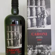 Caroni 17 Years 2000 U.S. Version High Proof Bottled 2017 Velier