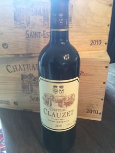 2010 Chateau Clauzet  Saint-Estephe in OWC x 6 Bottles