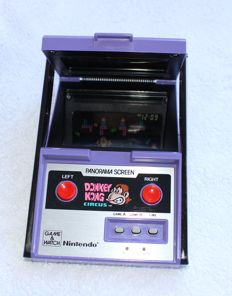Nintendo Game Watch Panorama Screen Donkey Kong