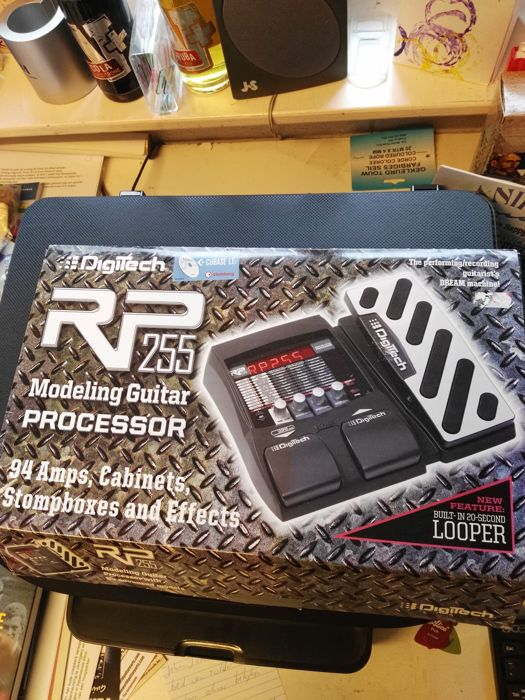 Digitech RP 255 Guitar Processor With Looper