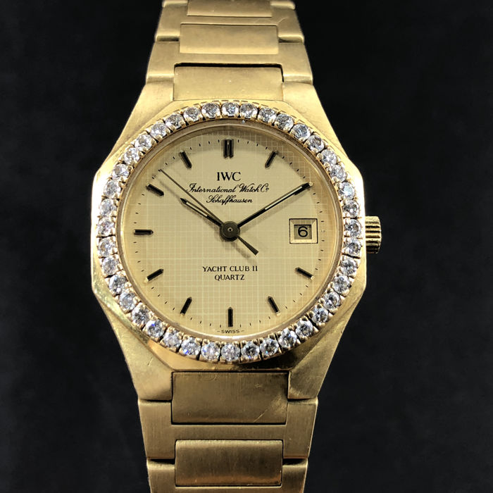 IWC - Yacht Club II Diamond  - Ref.6705 - Women - 1980-1989