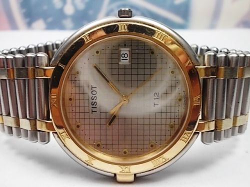 Tissot - Water Resistant 120M - model no. T 12 - Heren - 1980-1989
