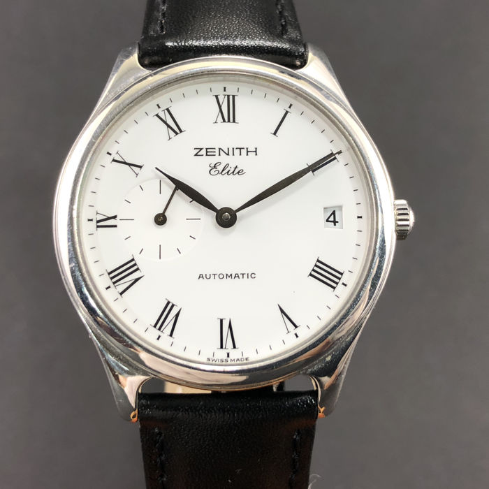 Zenith - Elite Open Back Cal.680 - Ref. 010040680 - Homme - 2000-2010