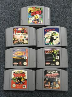 7 N64 games (some rare)