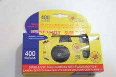 LOT OF 24 disposable cameras. WITH FLASH. Good quality