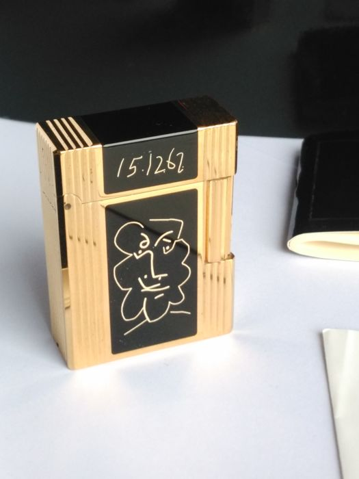 S.T Dupont lighter - PICASSO 1993 collection - limited edition - 6000 ex - NEW