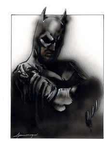 BATMAN by Daniel Azconegui - Original Painting