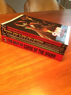 Spawn - 'Endgame' + 'New beginnings' + 'Neo Noir + 'New Flesh' + 'The Best of Curse of the Spawn' x7 Trade Paperbacks