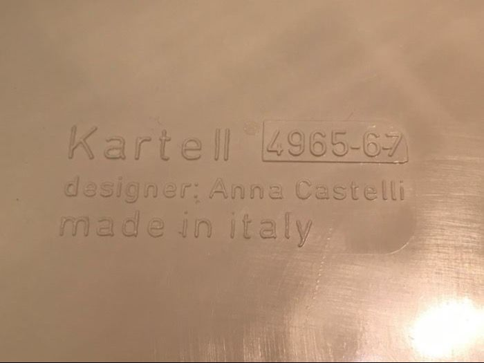 Kartell Componibili Kast : Anna castelli by kartell componibli cabinet catawiki