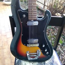 Eko Cobra vintage guitar - made in Recanati Italy