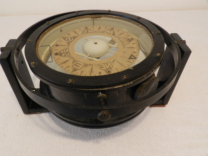 Large Ships Mother Compass Blair Nautical Supplies Ltd Cardiff  Wales UK - 1920's