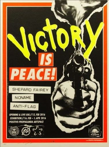 Shepard Fairey (OBEY) - Victory is Peace