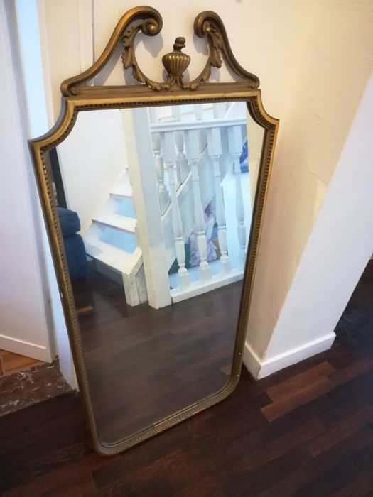 Classic style mirror, second half of the 20th century