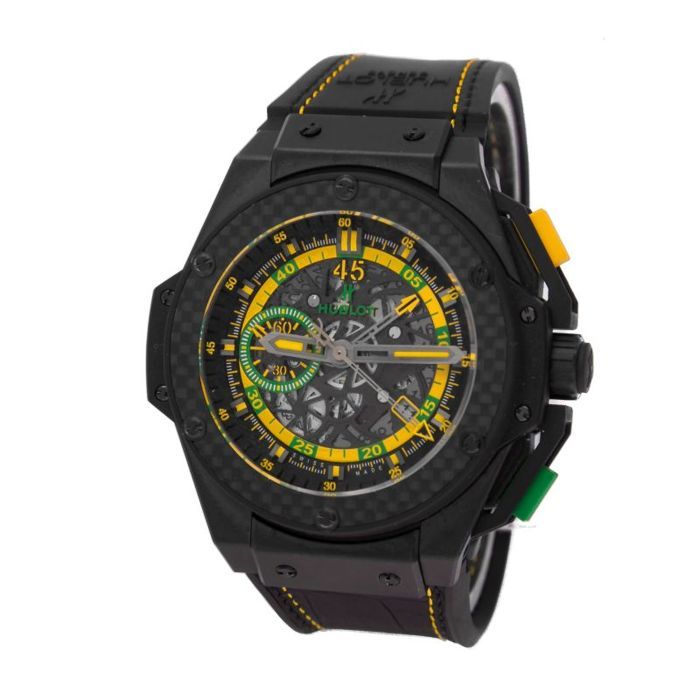Hublot - King Power Scolari limited 50 pcs new strap - 716.CQ.1199.LR.SOl14 - Men - 2011-present